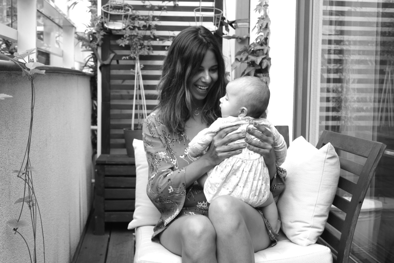 2.Ania and baby